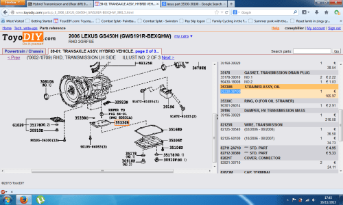 small resolution of hybrid transmission and rear diff 90k fluid change gsh gearbox png