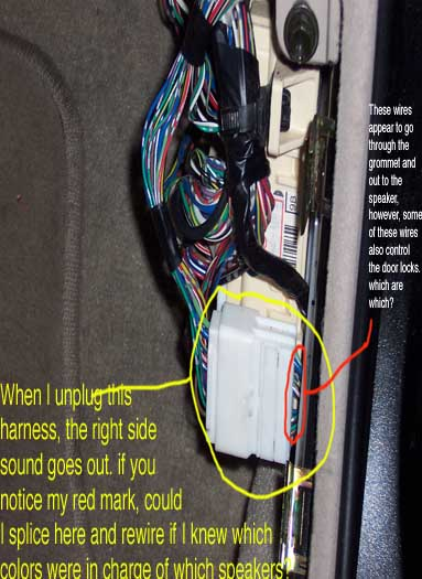 2004 Chevy Trailblazer Radio Wiring Diagram Help With Rewiring Speakers And Bypassing Factory Amp