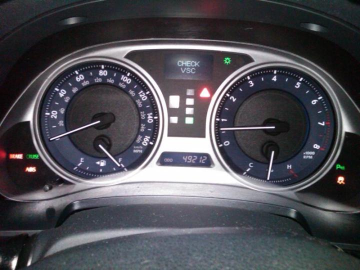 Vsc Light Lexus Is350 Decoratingspecial Com