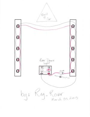 VIP Puddle LED Wiring Diagram  ClubLexus  Lexus Forum
