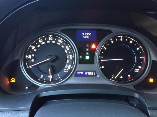 small resolution of check vsc traction control and check engine lights on problem