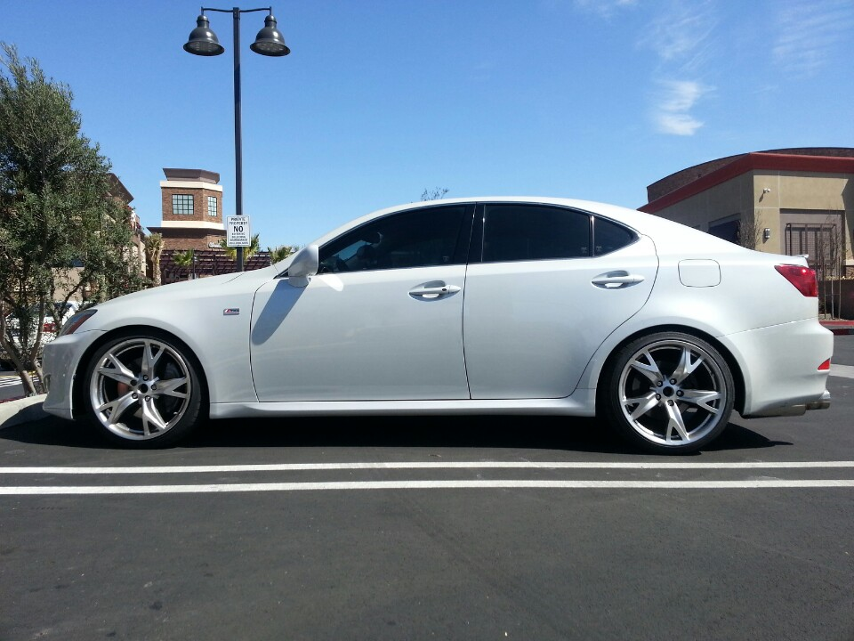 370z rays wheels on an ISF  ClubLexus  Lexus Forum Discussion