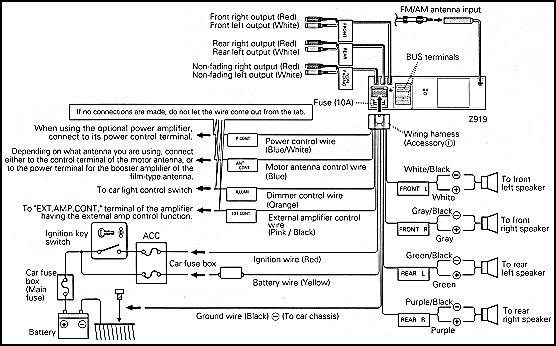 kenwood kdc wiring diagram nissan 350z fan kvt 512 diagrams schematic 514 harness 252u