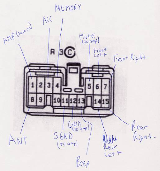 1993 lexus ls400 radio wiring diagram
