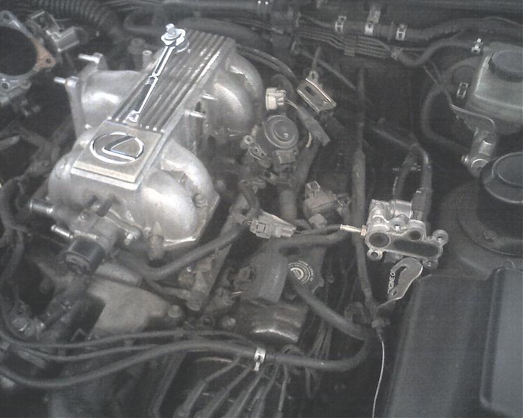 Lexus 96 Ls 400 Starter Removal