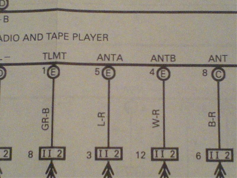1988 Toyota Sienna Wiring Diagram Automotive Wiring Diagrams