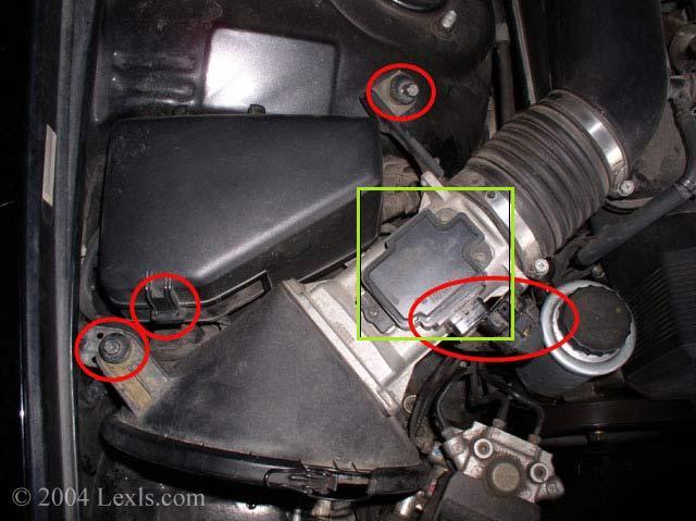 Lexus Maf Sensor Location 1995