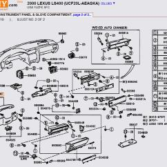 1995 Lexus Ls400 Radio Wiring Diagram 91 Civic Fuse Box Ls 400 Harness Removal 38