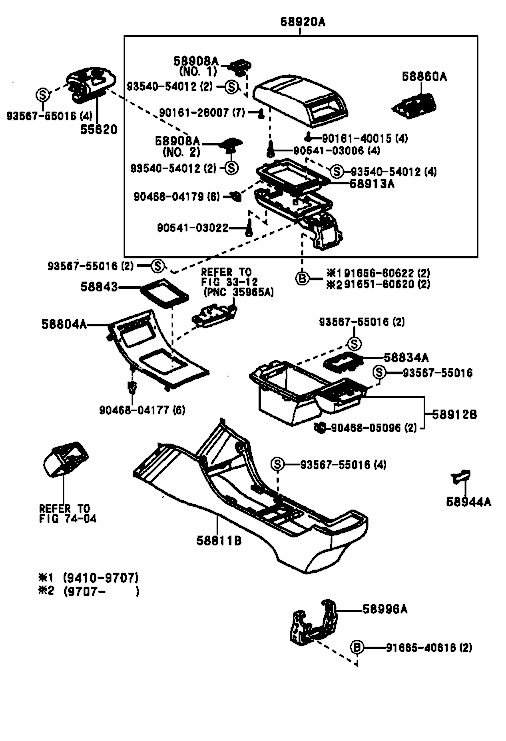 Center Console Oem Lexus Parts Diagram. Lexus. Auto Wiring