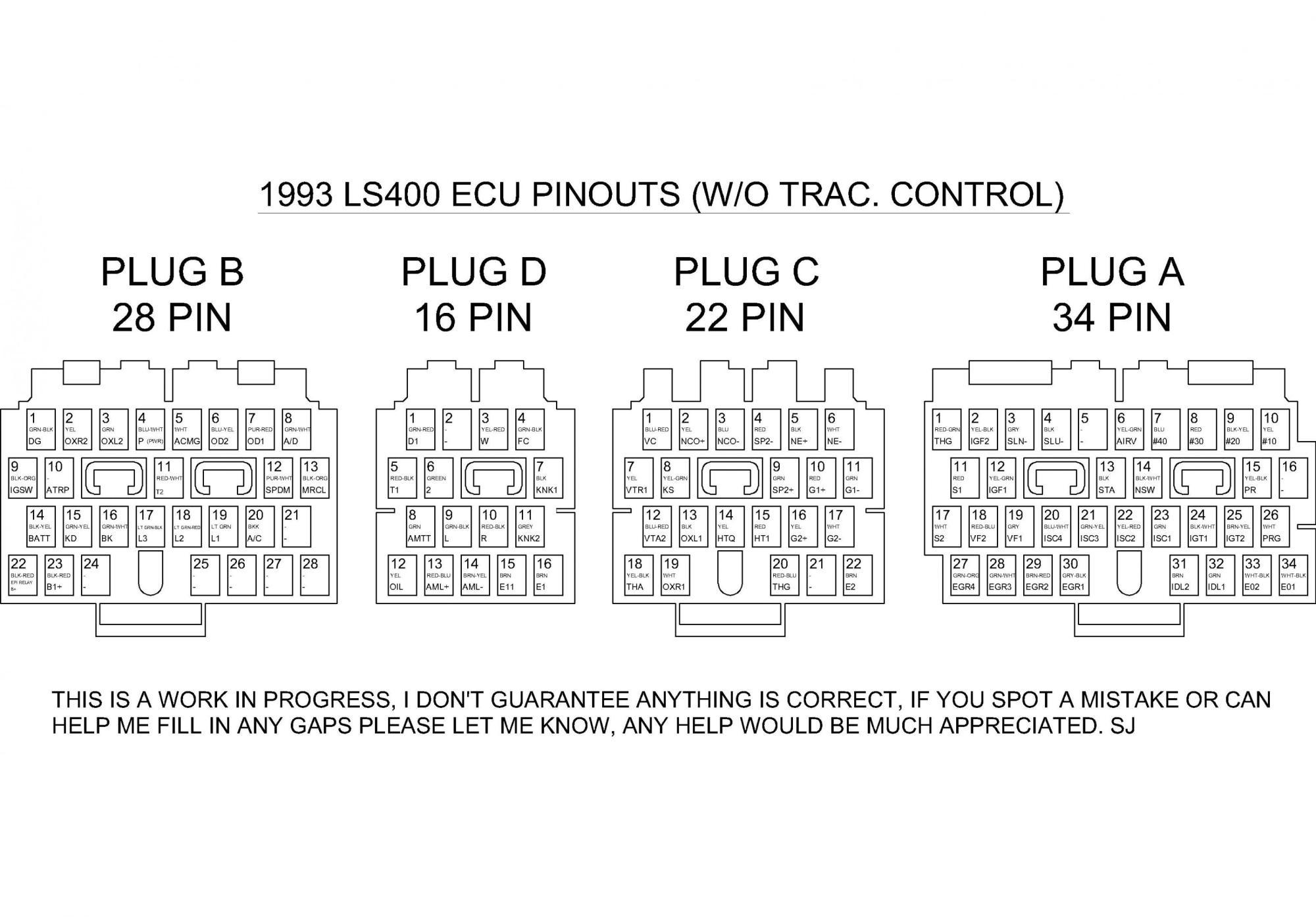 hight resolution of lexus ls400 ecu wiring diagram wiring diagrams konsult clublexus lexus forum discussion lexus ls400 ecu wiring