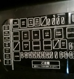 japanese to english translation of fuse diagrams 96celsior ls400 home fuse box japanese to english translation [ 1277 x 717 Pixel ]
