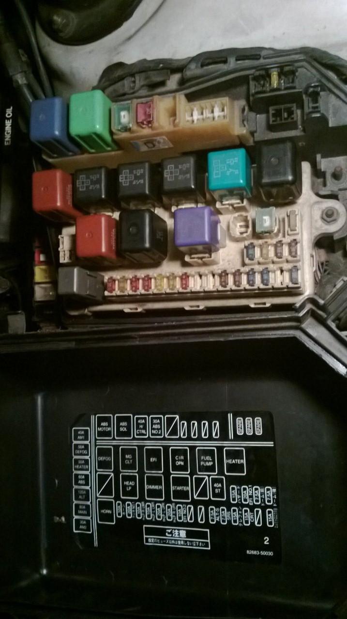 92 Lexus Ls400 Fuse Box Diagram | Wiring Diagram on