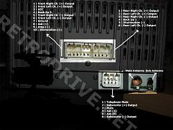 Club Car Wiring Diagram 94 Ls400 Aftermarket Head Unit Working With Factory Amp