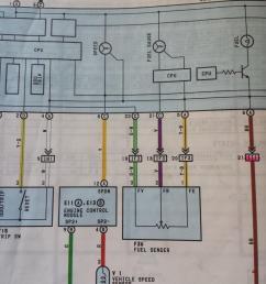92 toyota under dash wiring [ 1800 x 2400 Pixel ]