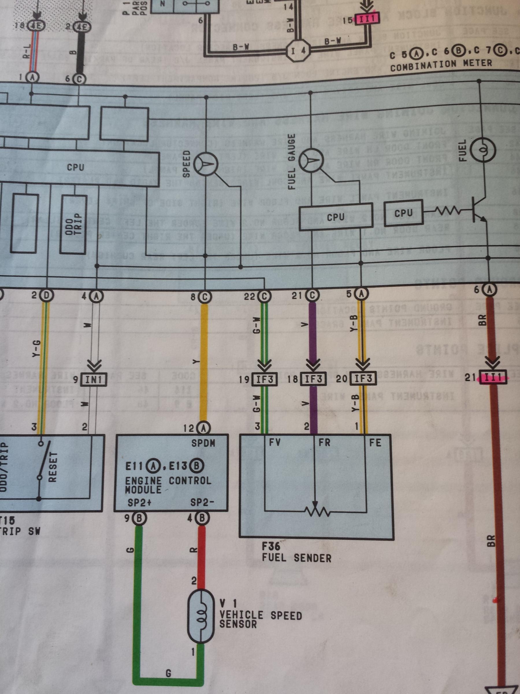 hight resolution of 92 toyota under dash wiring