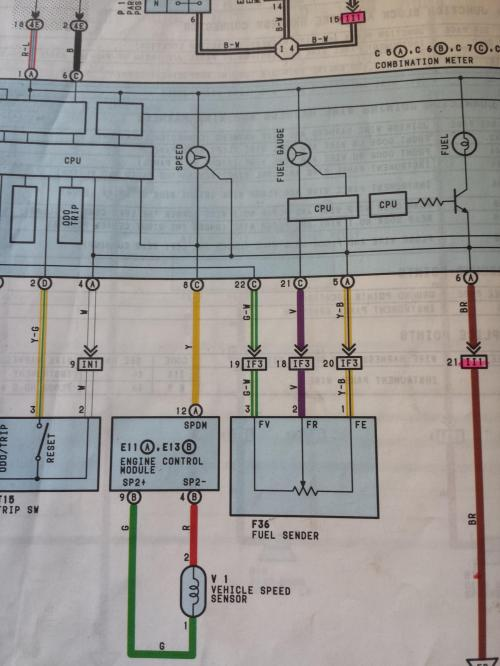 small resolution of 92 toyota under dash wiring
