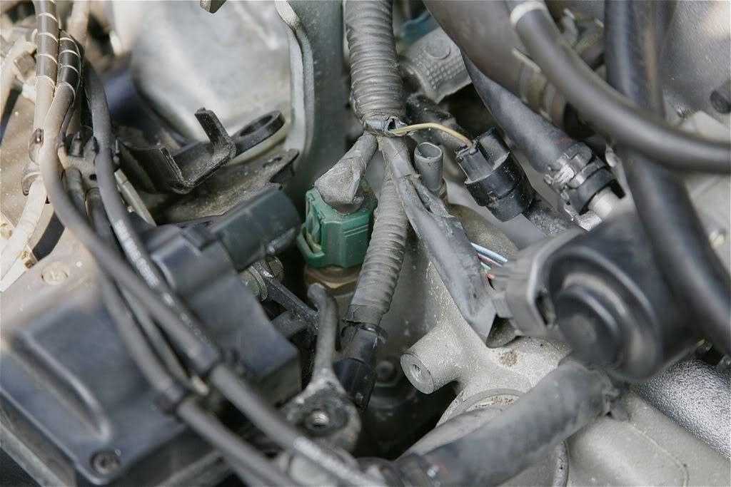 1996 Lexus Sc400 Engine Wiring Diagram Diy Coolant Temperature Sensor Change Pics Clublexus