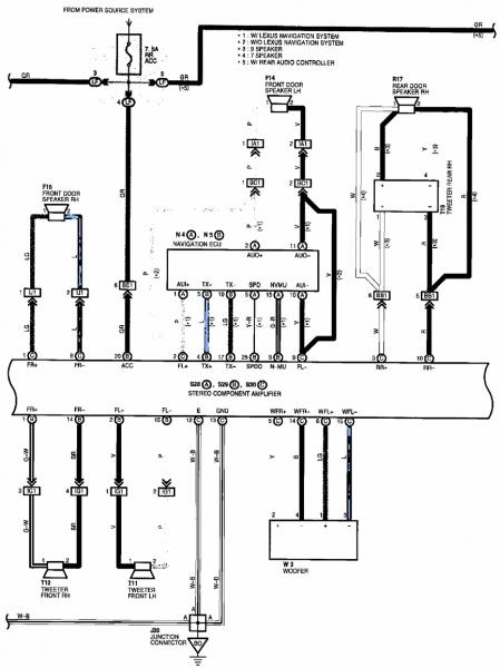 1999 Lexus Gs300 Fuse Box Diagram. Lexus. Auto Fuse Box