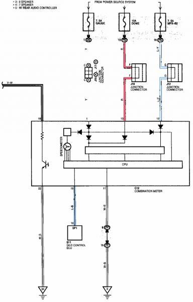 lexus wiring diagram better wiring diagram online - 1997 lexus es300  headlight wiring diagram