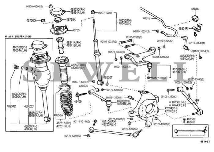 2001 lexus ls 430 fuse box