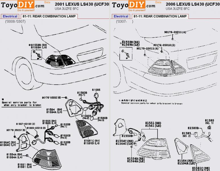 Is300 Tail Light Diagram : 24 Wiring Diagram Images