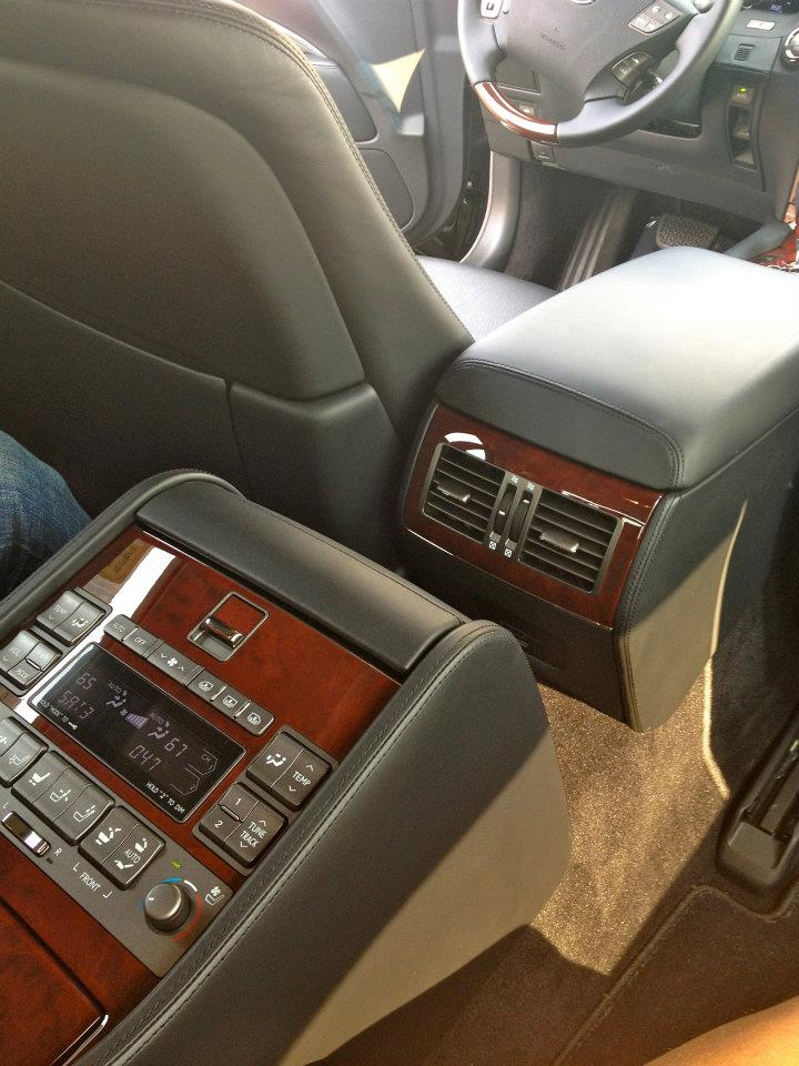 PICS Of My New 2010 LS460L Awd Executive Seating