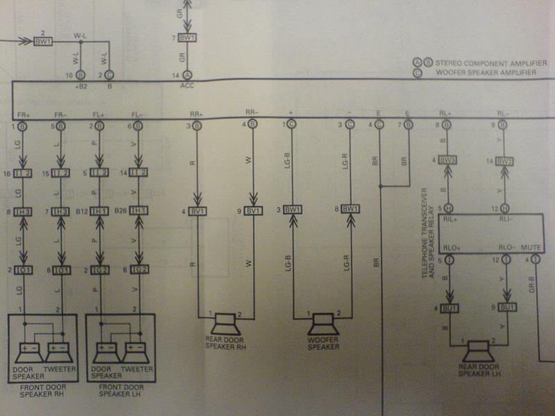 1993 Lexus Ls400 Wiring Diagram