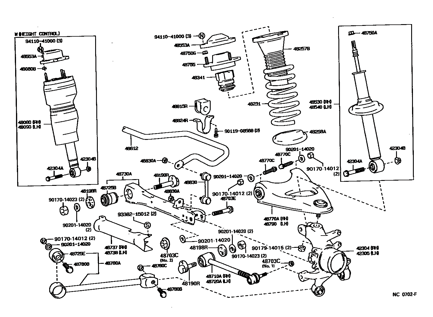 93 Lexus Gs300 Front End Suspension Diagram, 93, Free