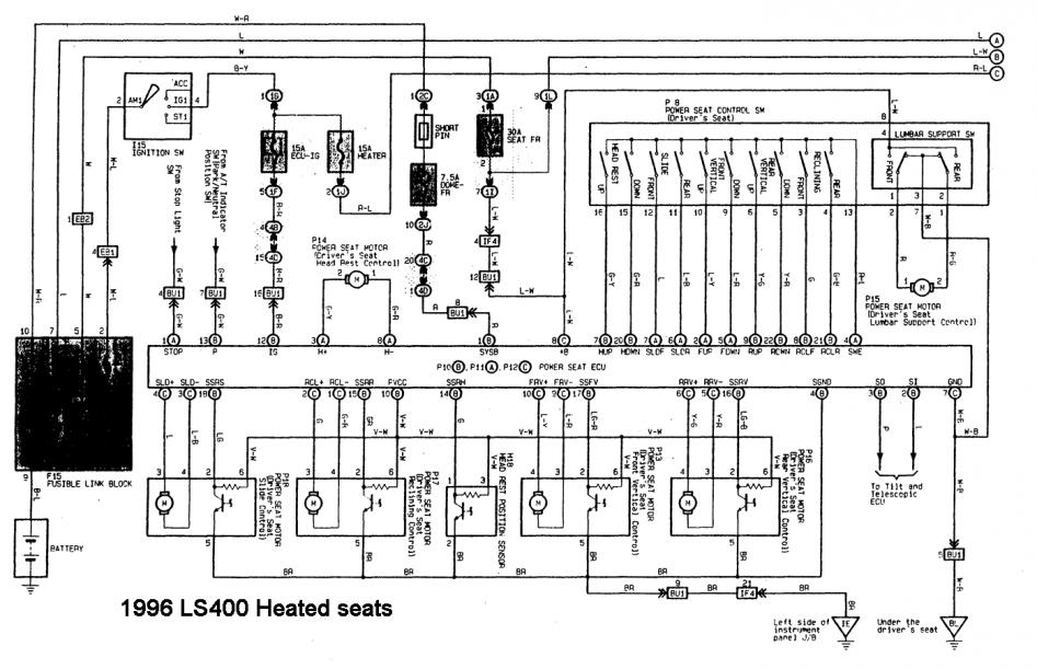 Lexus Ls400 Electric Diagram, Lexus, Free Engine Image For
