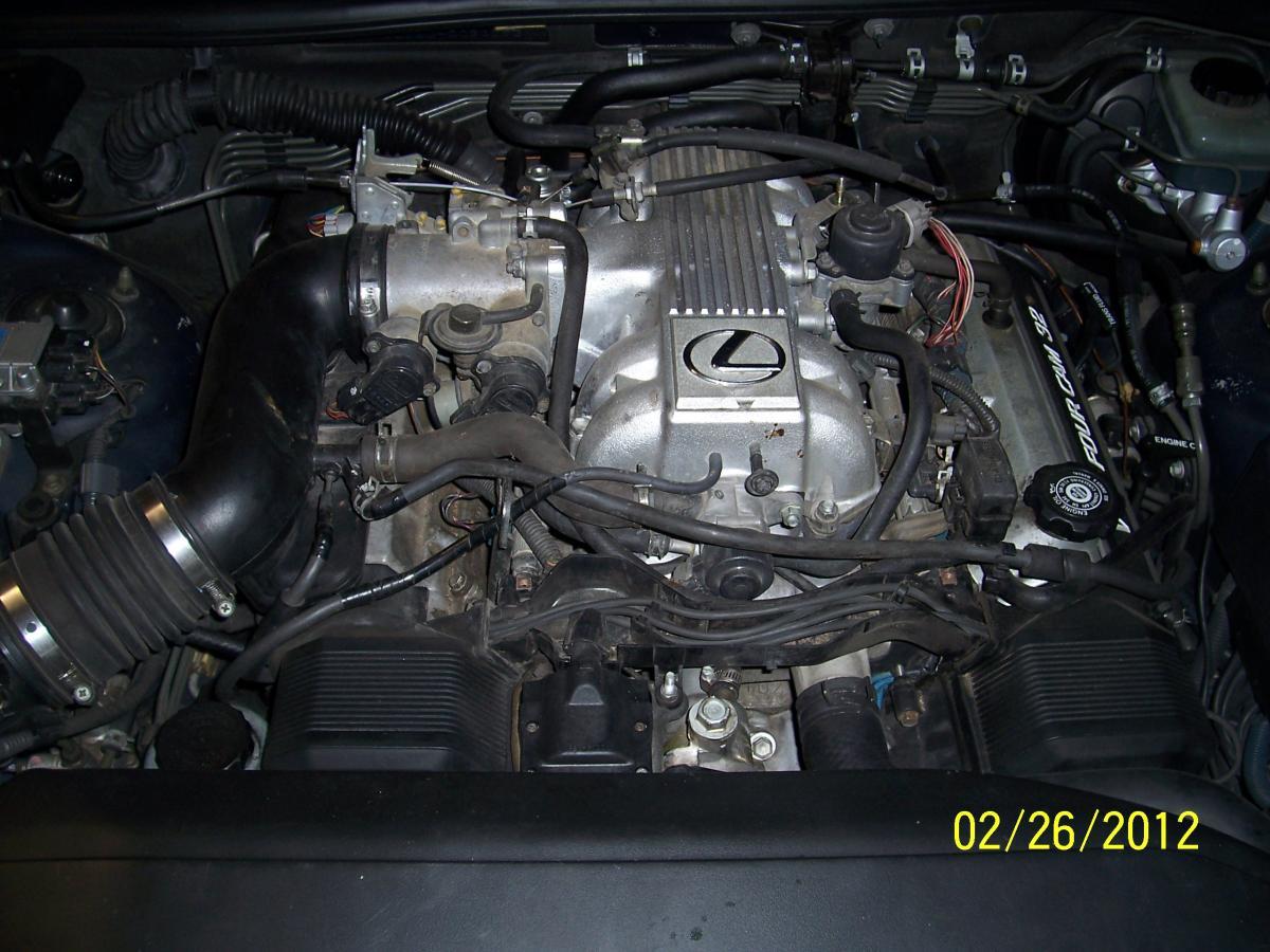 Lexus Engine Diagram