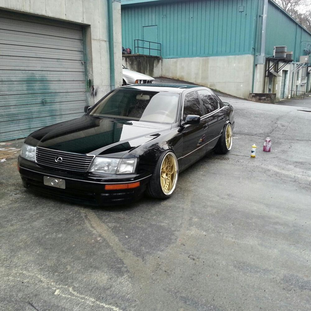 hight resolution of all black thread no two tone 95 97 ls400 body styles clublexus lexus forum discussion