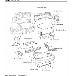 is300 rear bumper diagram is300 get free image about wiring diagram 1998 lexus gs300 fuse box [ 1696 x 2400 Pixel ]