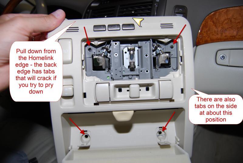 DIY Valentine V1 Radar Detector Hardwire 2001 LS430 Club
