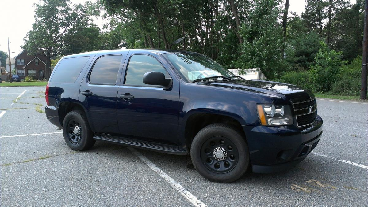 hight resolution of 2007 chevy tahoe police flexfuel ppv midnight blue hard to find or