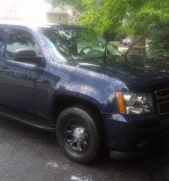 2007 chevy tahoe police flexfuel ppv midnight blue hard to find or  [ 1200 x 677 Pixel ]