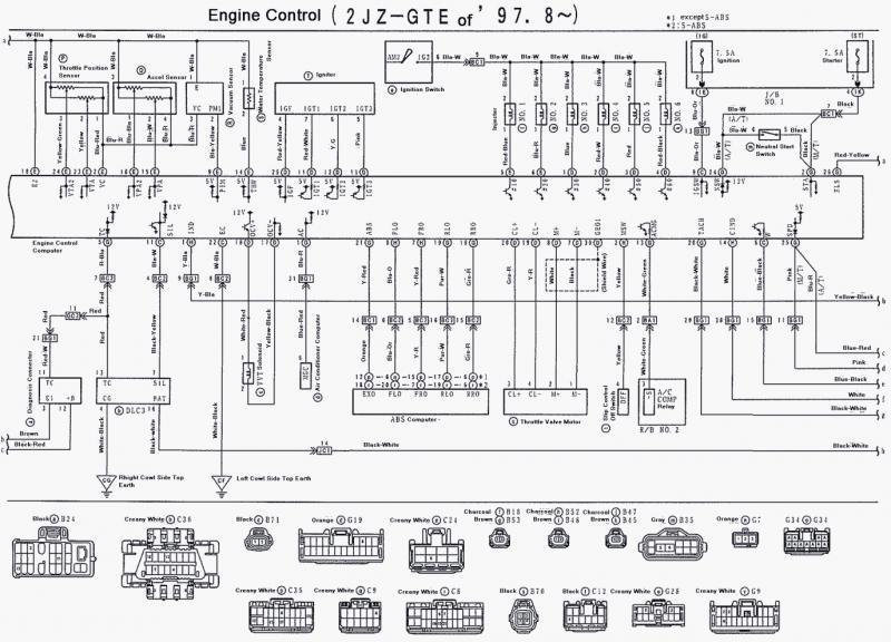 lexus v8 wiring diagram