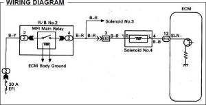 Looking for No 4 Solenoid Wiring Diagram  ClubLexus