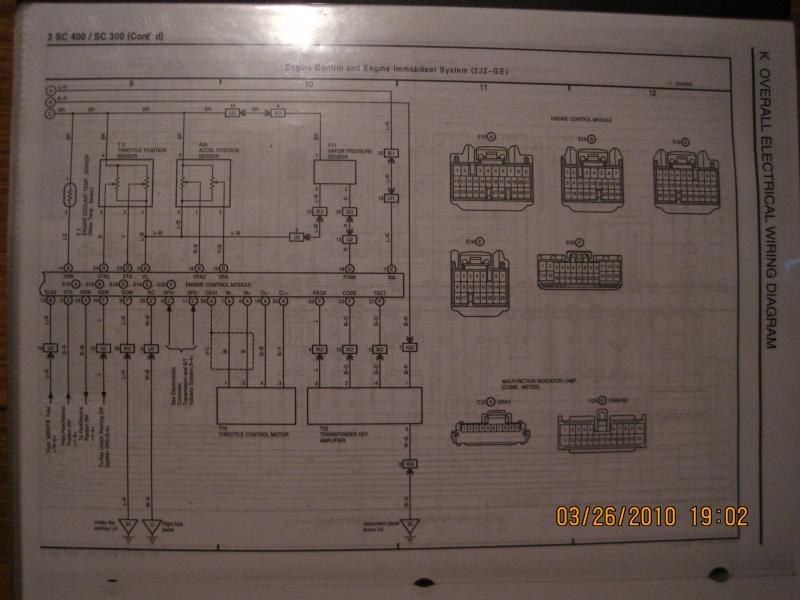 Ecu Wiring Diagram