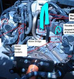 coolant leak back of engine pull trans or engine backengine2 [ 1200 x 901 Pixel ]