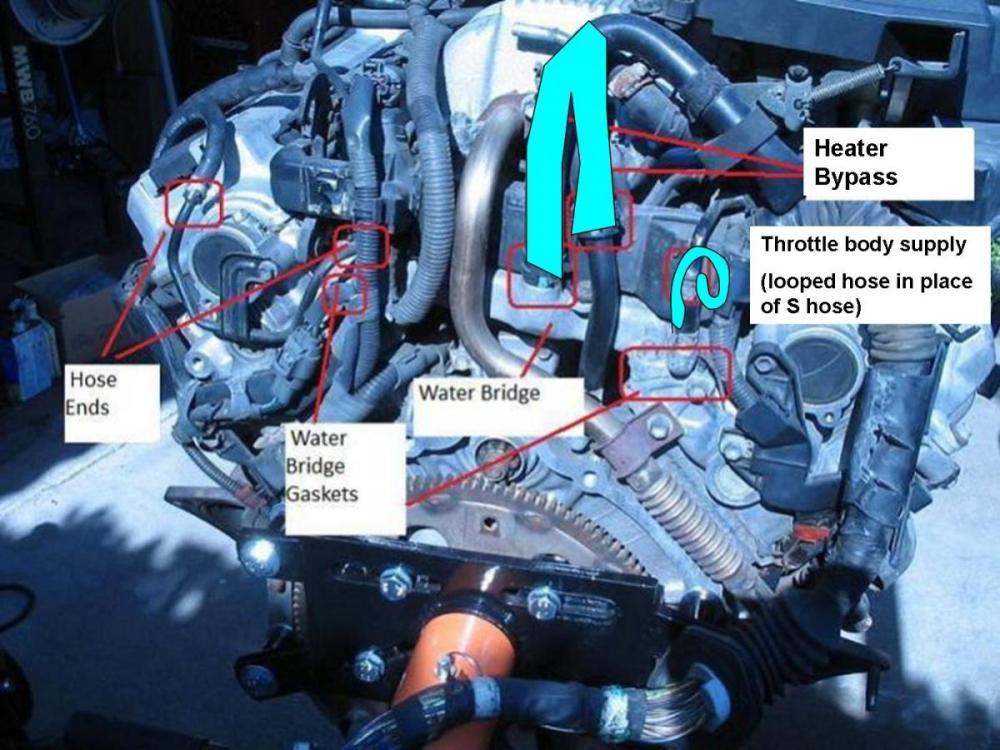 medium resolution of coolant leak back of engine pull trans or engine backengine2