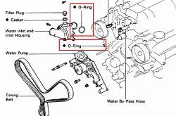 Coolant Leak @ Back of Engine...Pull Trans or Engine