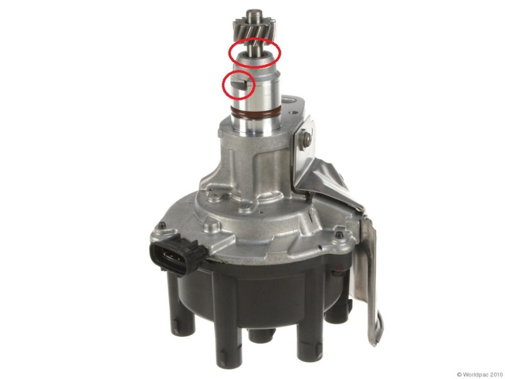 medium resolution of oil leak from distributor help please w01331738828oes jpg