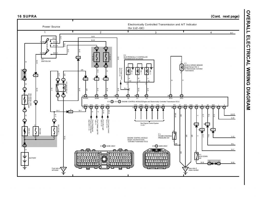 Toyota Crown 1jz Ecu Wiring Diagram Engine And