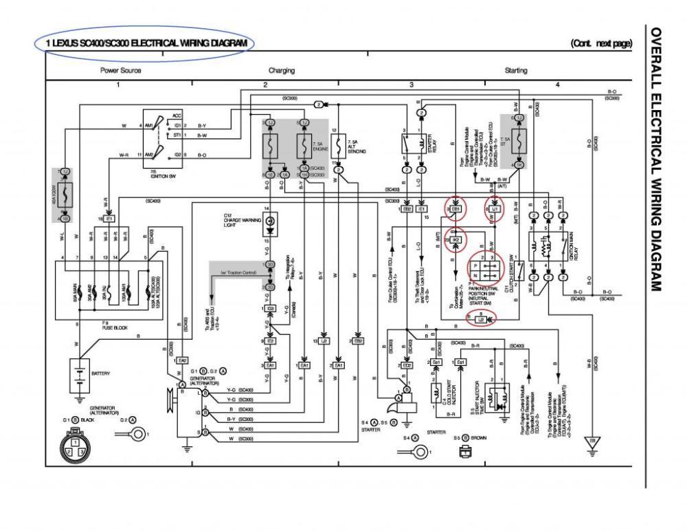 medium resolution of sc300 alternator wiring diagram 31 wiring diagram images sc400 turbo denso alternator