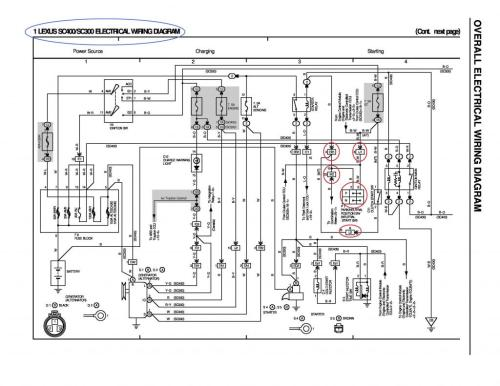 small resolution of sc300 alternator wiring diagram 31 wiring diagram images 2000 lexus es300 alternator wiring diagram lexus 1uz