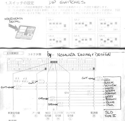 1jz gte ecu wiring diagram empty venn needs instructions to install hks sld (speed limit defencer) type 2 on aristo tt - clublexus ...