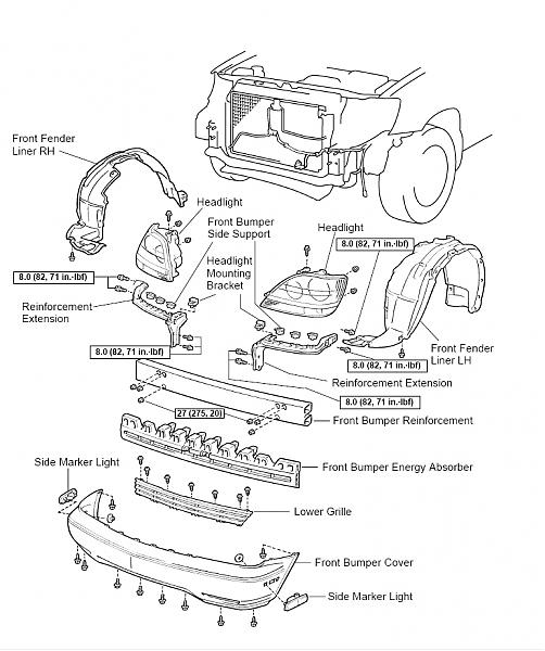 have the diagram to remove the front bumper club lexus forums