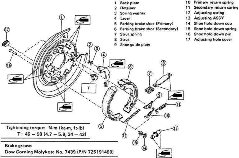 Service manual [1999 Lexus Lx How To Adjust Parking Brake