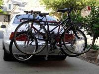 RX350 and Thule Bike Roof Rack