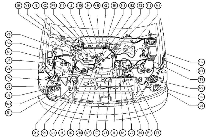 1998 Lexu Gs400 Engine Diagram